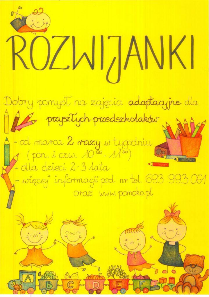 Rozwijanki - plakat