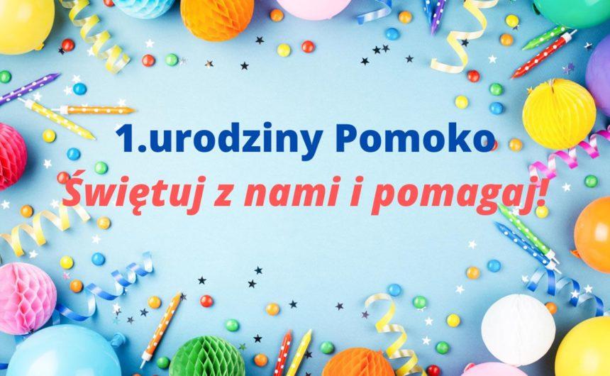 Pierwsze urodziny Pomoko – świętuj z nami i pomagaj!